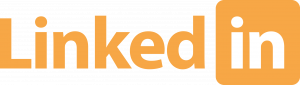 Oranje LinkedIn Logo
